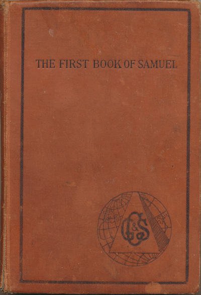 Frank Marshall [1848-1906], The First Book of Samuel