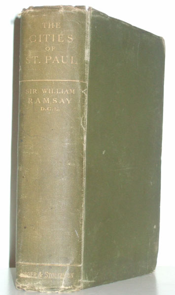 The Cities of St Paul by William M. Ramsay