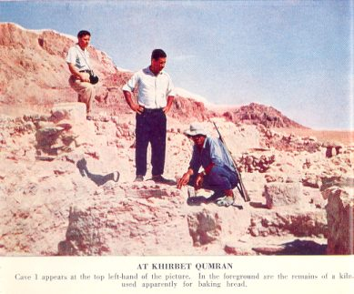 At Khirbet Qumran